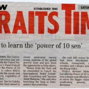 Power of 10sen (NST)