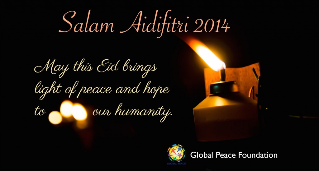 May this Eid brings light of hope and peace to our humanity.
