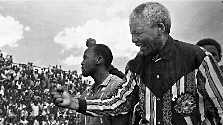 Nelson Mandela's address to a rally in Cape Town after his release from prison