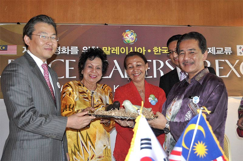 Delegation promotes korea