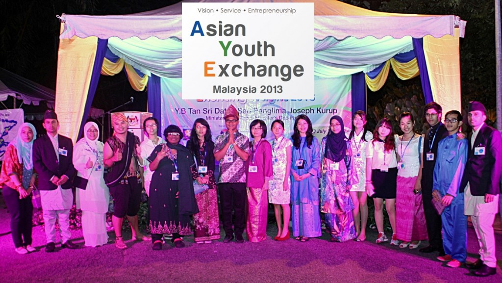 asian youth exchange malaysia 2013