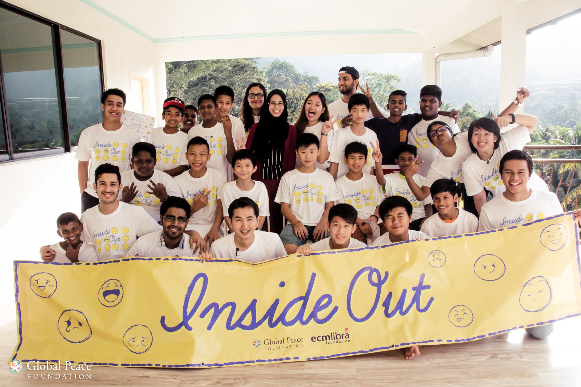 Inside Out Camp Group Photo