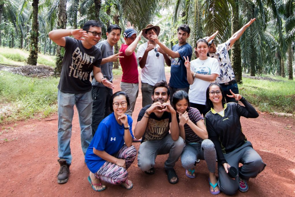 Working in Kampung Padang with Engineers Without Borders